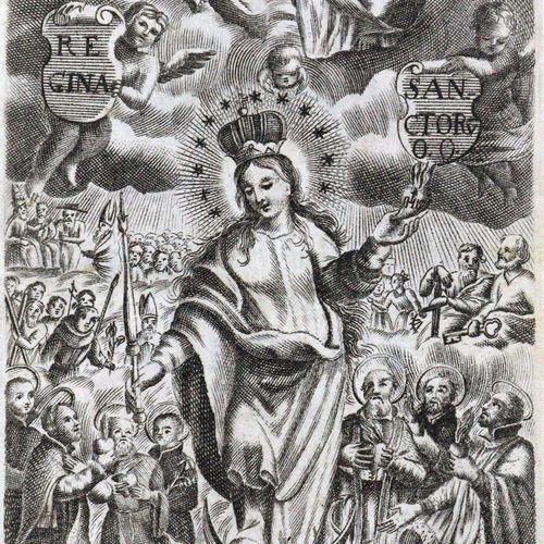 Grosez,J.S. Diarium Sanctorum. Cum facultate, & licentia superiorum. Mchn., Stra…