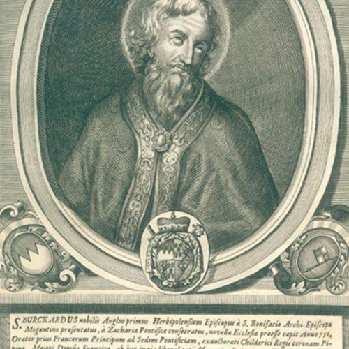 Salver,J. Icones virtuosae sanctorum, beatorum, reverendissimorum & celsissimoru…