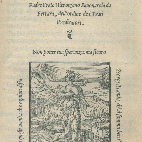 Savonarola,G. Triompho della croce di Christo, della verita della fede christian…
