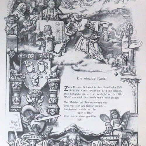 Fliegende Blätter. 丛书21卷,共18卷。Mchn., Braun & Schneider 1898 1922. 4°.有许多插图。有印刷的边…