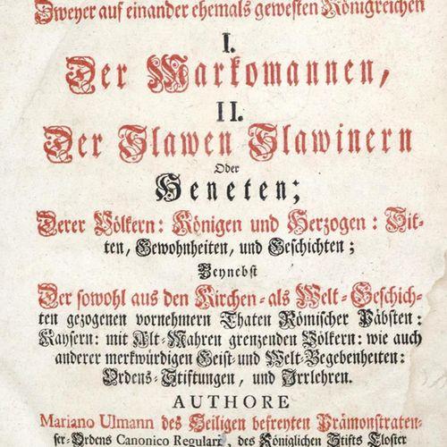 Ulmann,M. L'ancienne Moravie, constitution géographique chronologique historique…