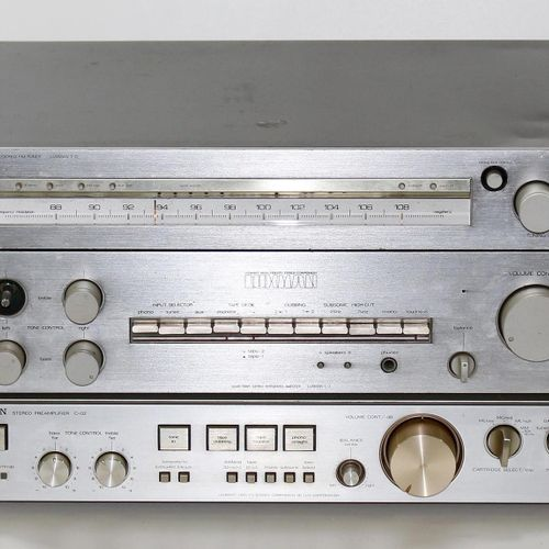 Luxman Stereo Geräte. Luxman T 12 Accutouch Quartz Locked, Luxman L 3 Solid Stat…