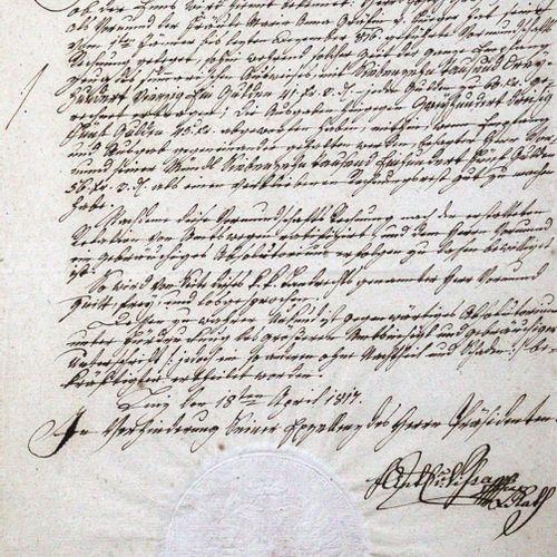 Engelhardt,C.F.W.V. Rittmeister im Preußischen Gensdarmes Reiterregiment, 18. Jh…