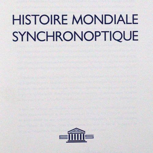 Peters,A. Histoire mondiale synchronoptique. Bâle, Editions Académiques de Suiss…