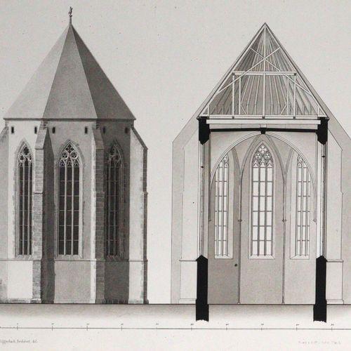 Burckhardt,L.A. U. C.Riggenbach. Die Dominikaner Klosterkirche in Basel (Und:) D…