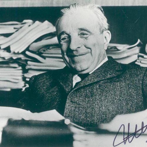 Neel, Louis (Physicien et lauréat du prix Nobel, 1904 2000). Ferrimagnetisme et …