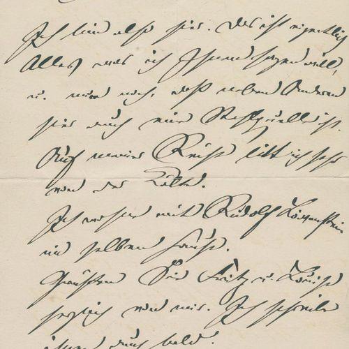 Konvolut von 41 Belegen mit Autographen, davon 20 Briefe (meist eh.) u. 13 Postk…