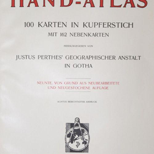 Stieler. Sammlung von 14 Atlanten. Versch. Aufl. Gotha, Perthes ca. 1863 1934. F…