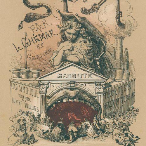 Ghémar,L. U. Gerlier. 水疗。雷杜特。甜品。布鲁塞尔,Ghémar Frères(1850)。4°.18幅(包括标题)石版画,带色调板。图文…