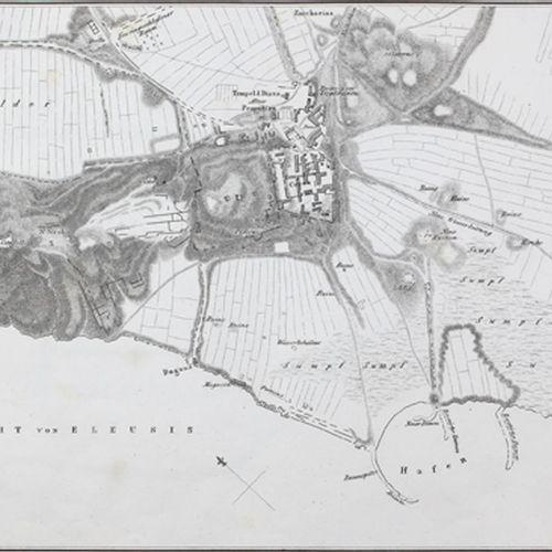 (Eberhard,H.W. Hrsg.). 阿提卡未经编辑的古物。包含埃利乌斯、拉姆努斯、苏尼翁、索里科斯的建筑遗迹。由伦敦Dilettanti协会编辑。(仅…