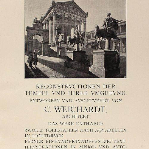 Weichardt,J. Pompéi avant sa destruction. Reconstitutions des temples et de leur…