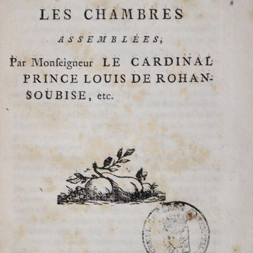 Kolonien. Sammlung von 4 französischen Dekreten und Gesetzen bezüglich französis…