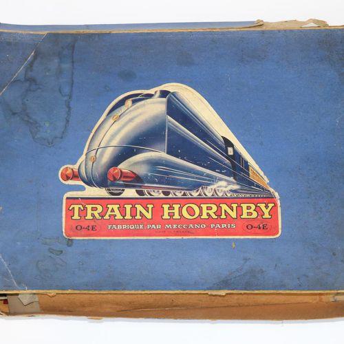 Hornby Bahnhof Ottweiler u. 火车包。Gare demontable第15号。 原装盒,有较重的储存痕迹。有使用痕迹的车站。 罕见的,…