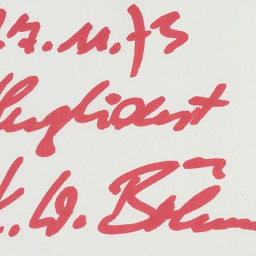 Sammlung d'environ 1000 autographes. Sign. Du domaine de la musique classique 19…