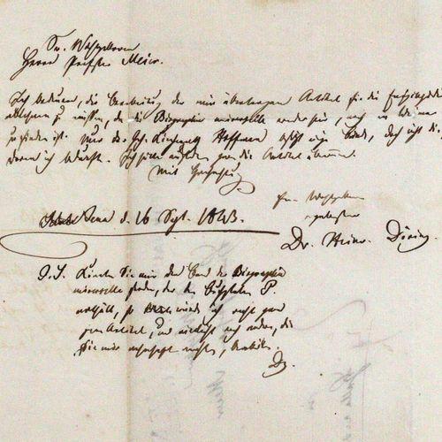 Döring, Johann Michael Heinrich, Schriftsteller, Übersetzer, Theologe u. Mineral…