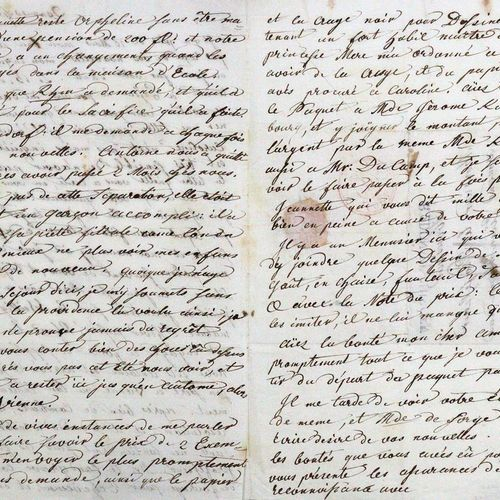 Rehmann, Joseph Xaver, 医生,王公贵族的私人医生(1755 1823)。Eh.法文信件,数据。多瑙兴根,1807年4月13日,4°。2页,…