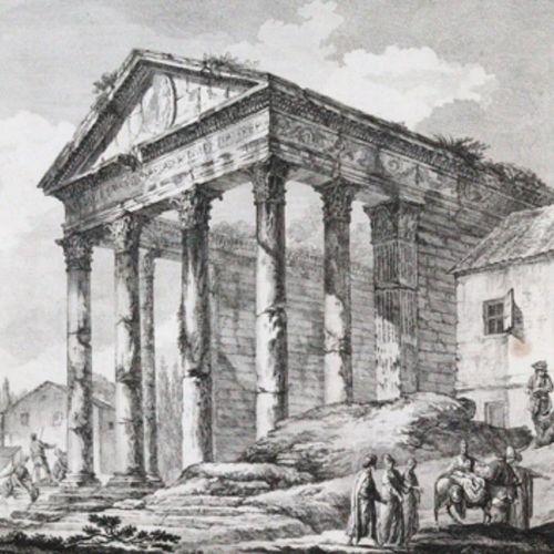 Le Roy,J.D. Les ruines des plus beaux monuments de la Grèce. 2. Ed. 2 en 1 vol. …