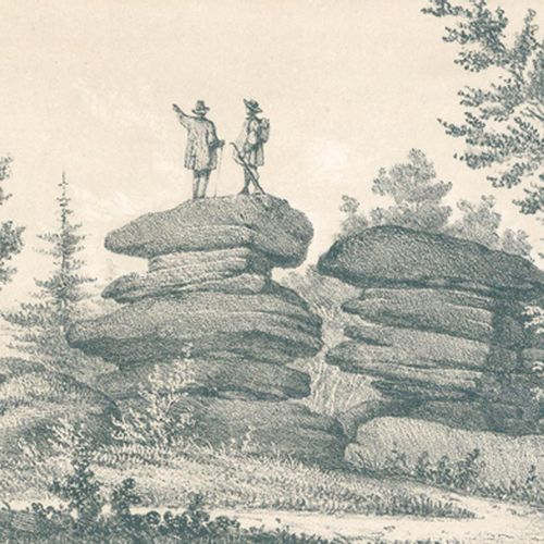 (Schir,N.). La Montagne de Sainte Odile et ses environs.专辑...新版本。斯特拉斯堡,Le Roux 1…