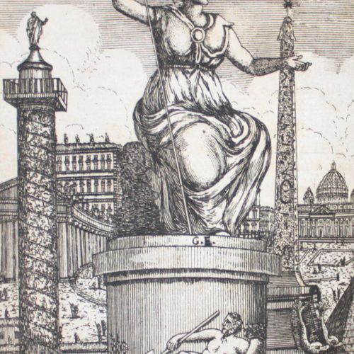 (Roisecco,G.). Roma antica, e moderna o sia nuova descrizione... Vol. 1 2 (sur 3…