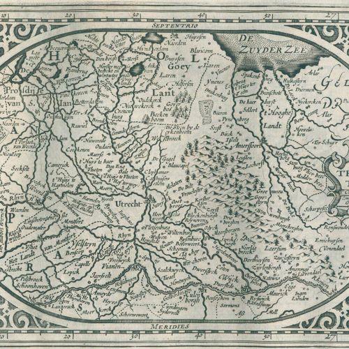 Landkarten Ou Description du monde : Warin entworffen und abgebildet seyn die fü…