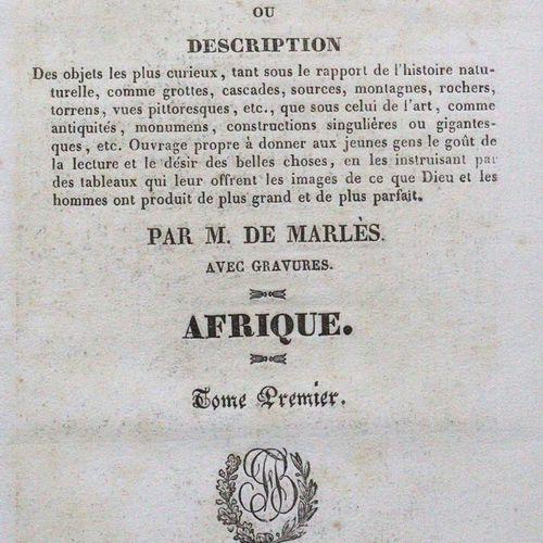 Marles,(J.L.)de. Merveilles de la nature et de l'art.. 2 Bde. Der Reihe. Paris, …