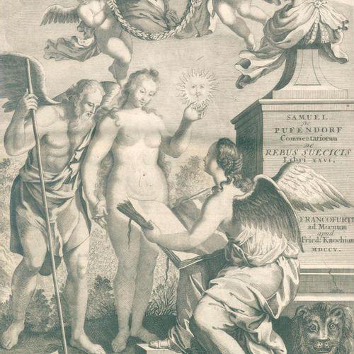 Pufendorf,S.(v.). Commentariorum de rebus suecicis libri XVI. An expeditione Gus…