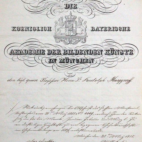 Kaulbach, Wilhelm von, 画家,慕尼黑美术学院院长(1805 1874)和莫里茨 卡里尔,哲学家和艺术史学家(1817 1895)。Eh.慕…