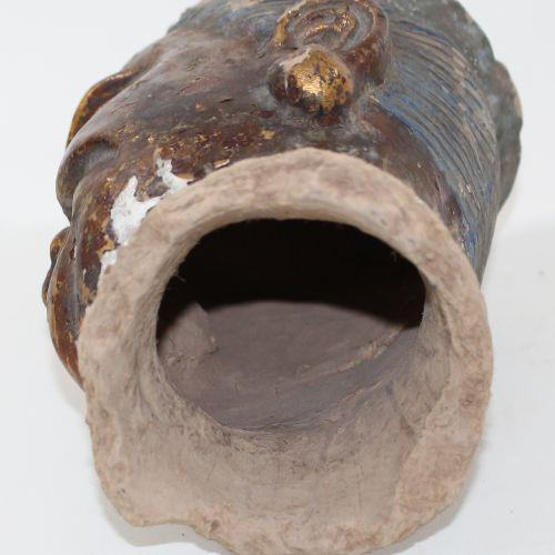 Kopf einer daoistischen Déité. Probablement d'Asie orientale, 18e/19e siècle. Tê…