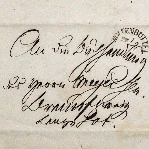 Strombeck, Friedrich Karl von, 法学家、行政官员和翻译家(1771 1848)。Eh.有签名的短信,数据。Wolfenbütten…