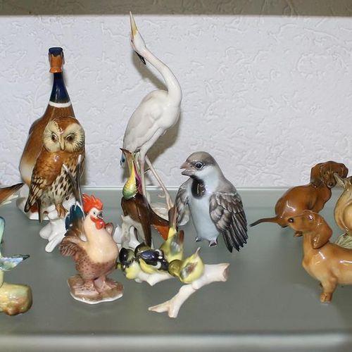 Rosenthal u. Hutschenreuter 大批23个瓷器小雕像的收藏。不同的制造商a.O. Hutschenreuter a.O. Rosenth…