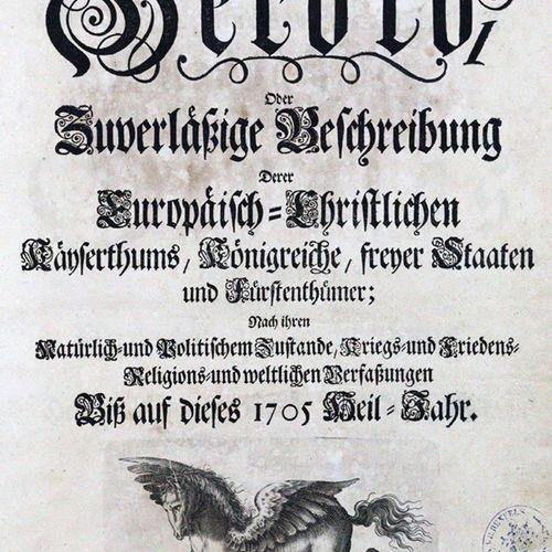 Leutholf von Franckenberg,F. (d.I. B.Zech). Europäischer Herold, Oder Zuverlässi…