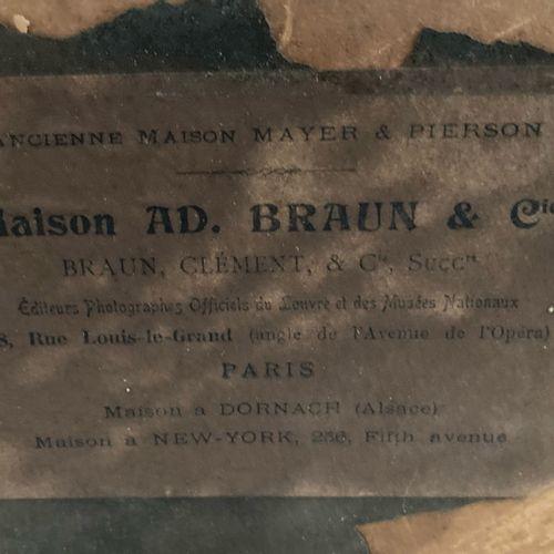 """NAPOLÉON """"Campagne de France 1814"""". Lithographie d'après le tableau exécuté en 1…"""