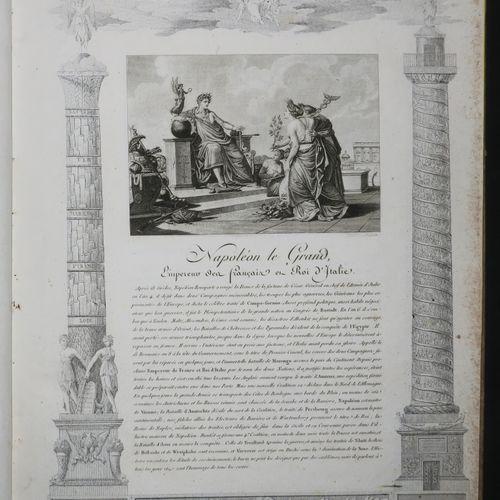 """NAPOLÉON """"Vie Politique et Militaire de Napoléon composée de 40 sujets représent…"""