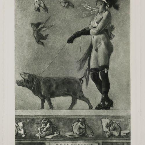 """ROPS Félicien (d'après) (Namur (Belgique) 1833 Essonnes 1898) """"Pornocratès, ou D…"""