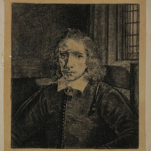 "REMBRANDT H. Van Rijn (1606 1669) ""Le jeune Haaring"". (Jakob Thomasz Haring, the…"