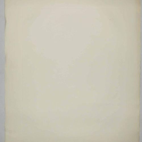 """DALI Salvador (1904 1989) """"L'alchimiste"""". Pointe sèche. Epreuve sur vélin d'Arch…"""