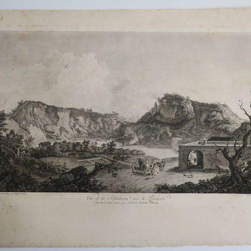"""ITALIE NAPLES """"Vue de la SOLFATERRA près de POUZZOLE, Ancien Volcan nommé par St…"""