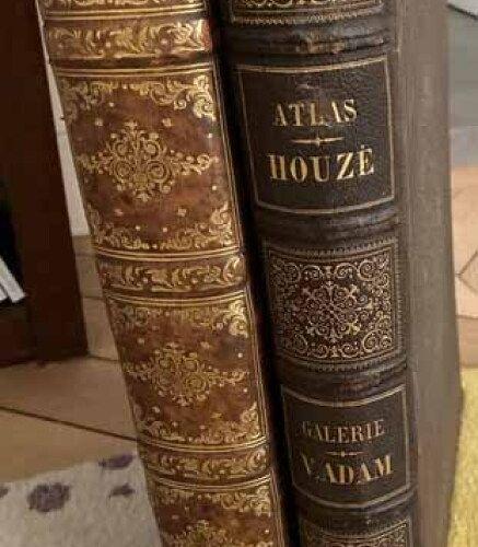 LOT DE 2 ATLAS UNIVERSEL DE GEOGRAPHIE (Lapie & Houze) de 1829 & 1859: 1 M. LAPI…