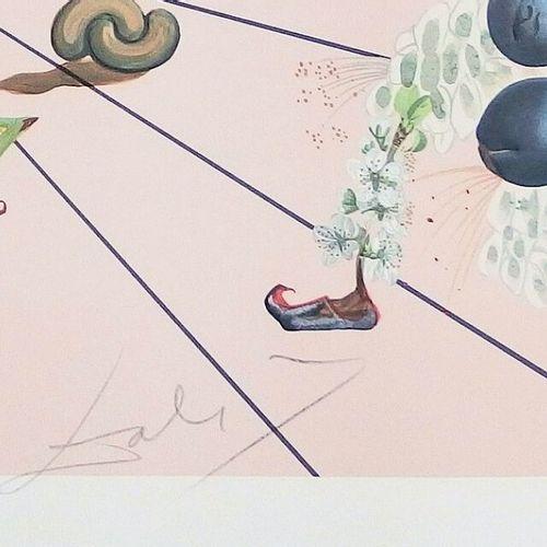 DALI Salvador (1904 1989) [Flordali I], 1981. Lithographie sur papier vélin, sig…