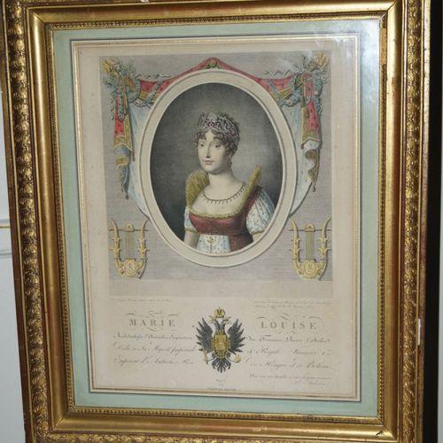 """AUDOUIN Pierre (17681822) """"Portrait de MARIE LOUISE, Archiduchesse d'Autriche, I…"""