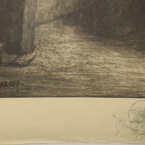 """DÉSIRÉ LUCAS Louis (Fort de France (Martinique) 1869 Douarnenez 1949) """"Conte de …"""