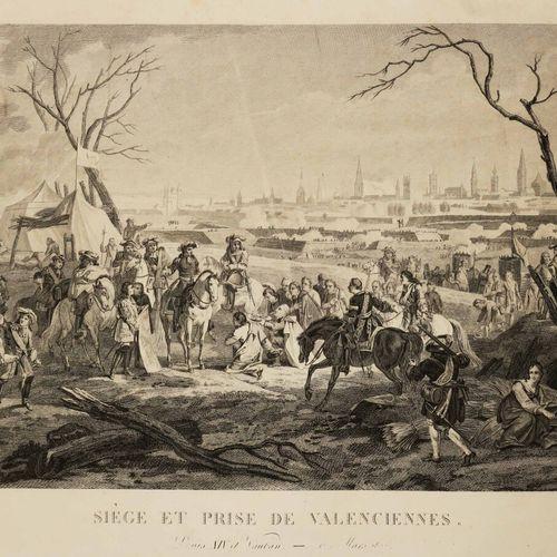 """NORD (59) VALENCIENNES """"Siège et Prise de Valenciennes, Louis XIV et Vauban"""". XI…"""