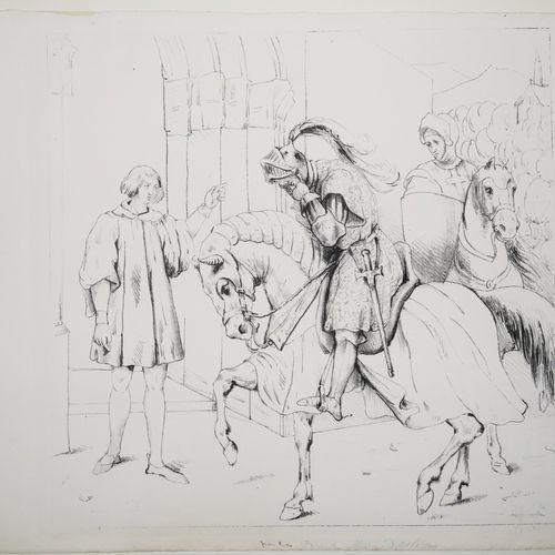 ORLÉANS Marie d' (Princesse, Fille de Louis Philippe. Italie 1813 1839) Réunion …