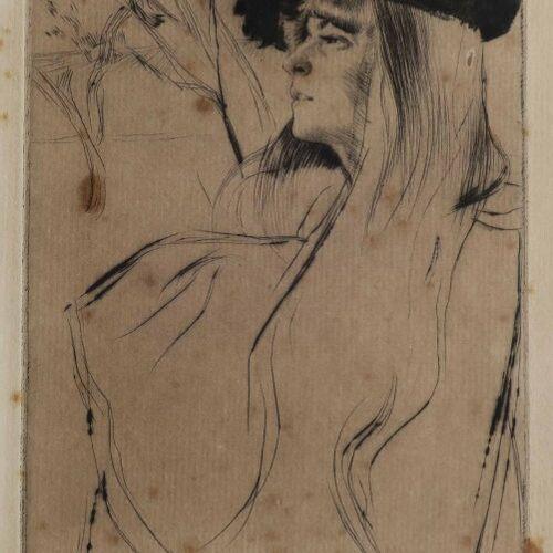 "LEGRAND Louis (Dijon 1863 Livry Gargan 1951) ""Battersea Park"". 1894. Pointe sèch…"