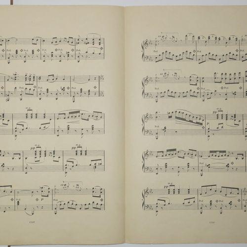 """RUSSIE Partition de Musique """"CHANSON RUSSE, Sydney Smith"""", Paris Editions Schott…"""
