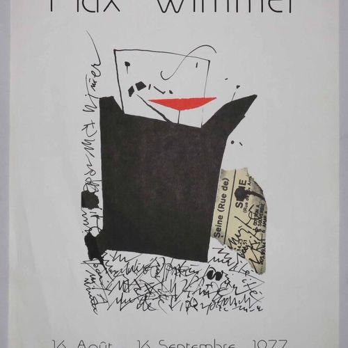 WIMMER Max (Allemagne 1935 2015) (d'après) Affiche d'Exposition au Musée Picasso…