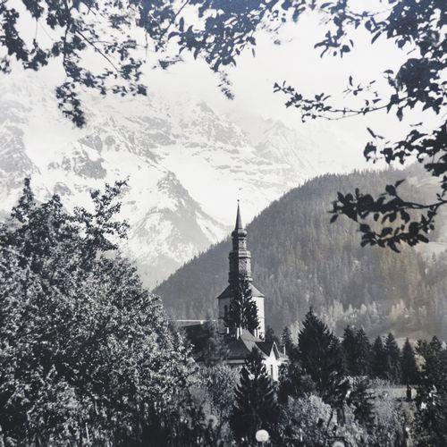 MONT BLANC HAUTE SAVOIE (74) PHOTOGRAPHIE FUMEX (Le Mont Blanc depuis ST GERVAIS…