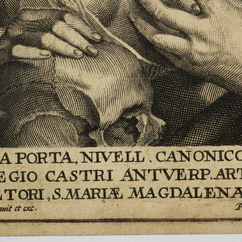 SCHUPPEN Pierre van (Anvers 1623 1702) VANITE [Sainte Madeleine]. Entre 1638 et …