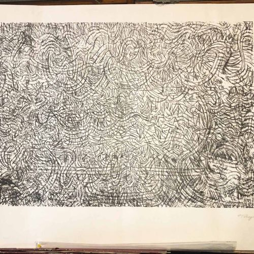 TOBEY Mark (Centerville, USA 1890 Bâle 1976) [Composition]. Lithographie origina…