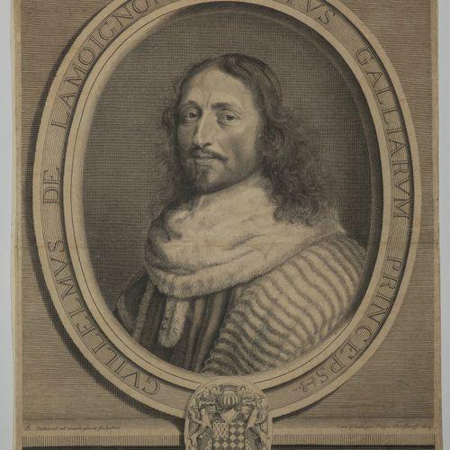 """NANTEUIL Robert (Reims 1630 1678) Portrait de """"Guillaume de Lamoignon, Premier P…"""
